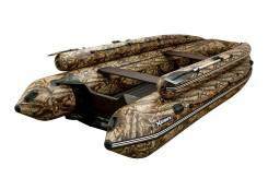 Лодка ПВХ Хатанга 390 JET LUX КМФ лес