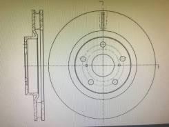Диски тормозные передние G-brake GR20537