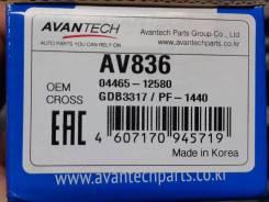 Тормозные колодки Avantech (Ю. Корея) на Toyota Prius 20