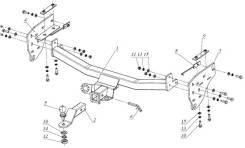 Фаркоп Fiat Fullback (Фиат Фулбек) 2017-XX 30661