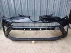 Передний бампер Toyota RAV4 15-18г