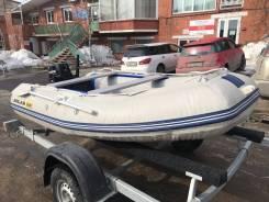 Комплект: Лодка ПВХ Solar 310 Максима + Лодочный мотор Tohatsu 9.8