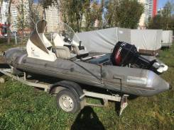 Продам RIB Water Way 460 c мотором Tohatsu 50 л. с.