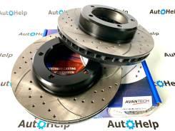 Диски тормозные перед перфорированные Avantech BR0262S | BR0263S