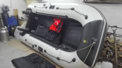 Ривьера 3200 надувная лодка с мотором