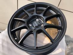 R15 новые диски Weds Sport, чёрные матовые. RZ14.4