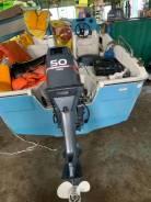 Продам лодочный мотор Yamaha 50 HETO, без пробега по России.