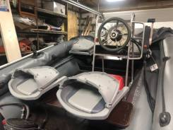 Продам лодку Абакан 430 джет с мотором Mikatsu M40 (улитка)