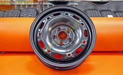 Комплект новых стальных дисков Trebl R14