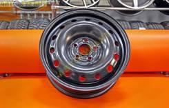Комплект новых стальных дисков Trebl R15