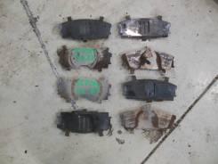 Пластины суппорта передние (комплект) Toyota Ractis