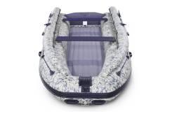 Лодка Solar-430 Super Jet пиксель с фальшбортом май