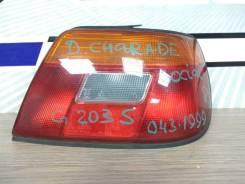 Фонарь задний Daihatsu Charade Social 1994-1998 G203S HE-EG, задний правый
