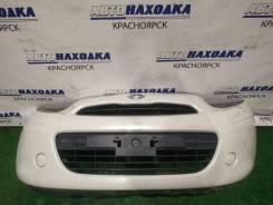 Бампер Nissan March 2010-2013 [620221HC1A] K13 HR12DE, передний