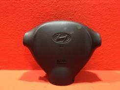 Подушка безопасности в руль Hyundai Santa Fe Sm 2000-2012 [5690026500] SUV G6BA