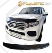 Дефлектор капота Classic черный Great Wall Wingle 7 2018–н. в. (изготовление) Plastics 1571