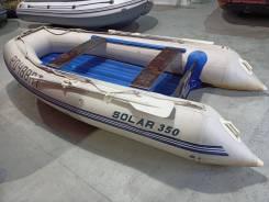 Лодка Solar 350, НДНД, килевая, пр-во Россия, БУ