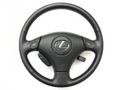 Оригинальный кожаный обод руля с кнoпками Shift Matic для Lexus
