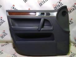 Обшивка двери Volkswagen Touareg 2008 [7L6867011EP] 7L6 BHK, передняя левая