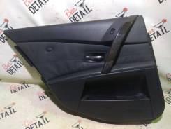 Обшивка двери Bmw 5 Серия 2007 [51427078741] E61 N52B25, задняя левая