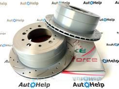 Диски тормозные задние перфорированные G-brake GFR-02452L | GFR-02452R