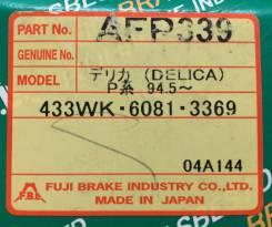 Колодки тормозные дисковые передние FBL AFP-339 комплект