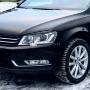 Реснички накладки на фары Volkswagen Passat B7 ( Пассат Б7) 2010-2015