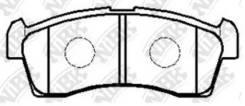 Колодки торм. пер. PN9523 NIBK PN9523