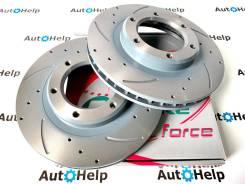 Диски тормозные перед перфорированные G-brake GFR-02239L | GFR-02239R
