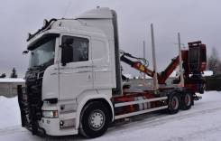 ЛЕСОВОЗ Scania R520, 2017
