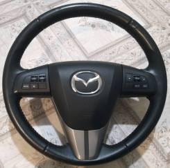 Руль Mazda кожа