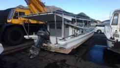 Шхуна 11 метров на подвесной моторе от Маринзип