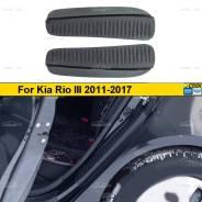 Накладки на задние арки Kia Rio 3 2011-2017