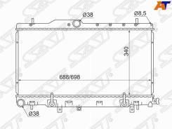 Радиатор Subaru Legacy B4 / Lancaster 98-03 / Impreza TWIN Turbo