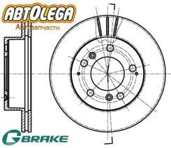 Диск тормозной передний G-brake Ssangyong Istana 98-