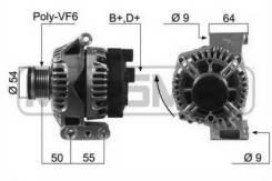Генератор 210451 (ERA — Италия)