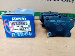 Продам задние колодки Mando MPT09 Toyota Vitz 10 / Corolla 120