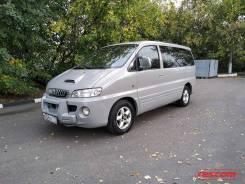 Аренда Hyundai H1 2002 серо-зеленный мет механика