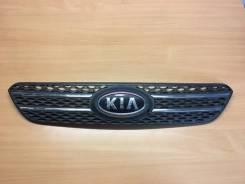 Решетка радиатора Kia Ceed 1 2006 [863501H200] Coupe 3D ED G4FC, передняя