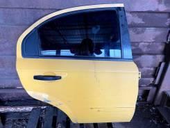 Дверь Chevrolet Aveo 2006 [96648858] T250 1.4 F14D3, задняя правая