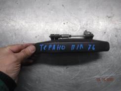 Ручка двери внешняя Nissan Terrano 2014 [8060700Q0H] F4R, передняя левая