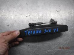 Ручка двери внешняя Nissan Terrano 2014 [8060700Q0H] F4R, задняя левая