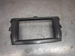 Рамка магнитоллы Toyota Corolla 2012 [5540512A71] 151 150 E15 1ZR