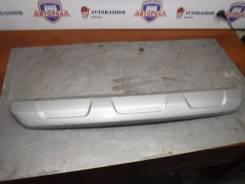 Накладка на бампер Lada Largus 2017 [8450009372] Cross K4M, задняя