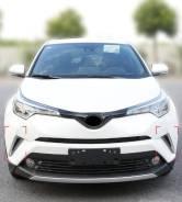 Накладки на передний бампер хром Toyotа C-HR