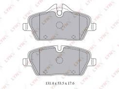 Колодки тормозные дисковые | перед | LYNXauto BD1429