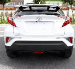 Накладки на задний бампер хром Toyotа C-HR