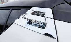 Накладка на ручки двери, хром Toyotа C-HR