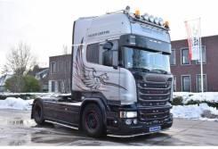 Scania R580 TL 4x2MNB V8 - SILVER GRIFFIN, 2016