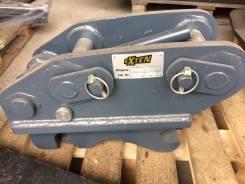 Квик-каплер на экскаватор-погрузчик JCB, Terex, Case